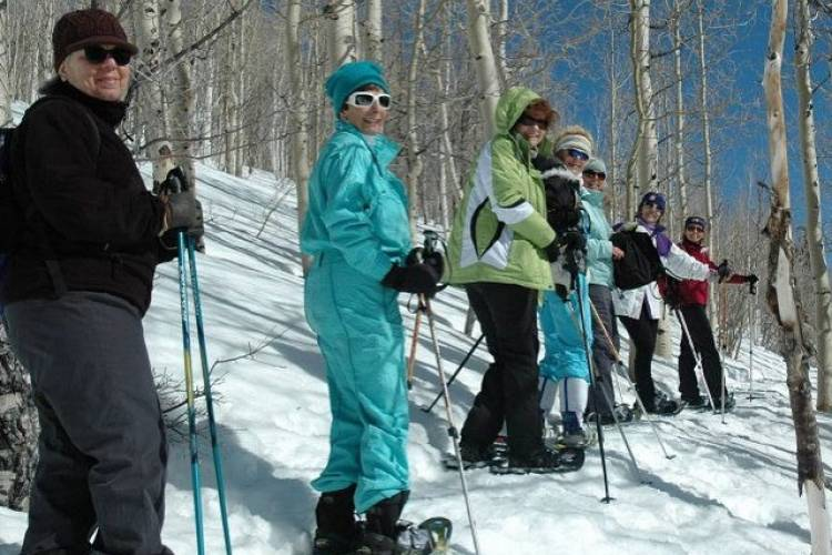 Snowshoeing in Park City